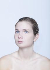 (Jules Marchetti) Tags: blue portrait eye girl angel women montréal ange femme yeux bleu demoiselle jules marchetti carolane