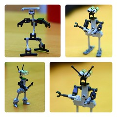 Robots (the_jetboy) Tags: robot lego space moc lugpol handfullofbricks