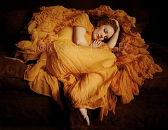 Homage to Flaming June (Ivory_Flame) Tags: uk england orange london classic model holly muse redhead professional aylesbury porcelain flamingjune preraphaelite redhaired paleskin lordleighton ivoryflame ivoryflamemodel wwwivoryflamecouk