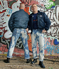 self1082 (Tommy Berlin) Tags: men ass boots butt jeans ars levis bleached skinhead stiefel