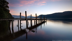 brandlehow sunrise (awhyu) Tags: park lake district jetty derwent national cumbria waters keswick brandlehow