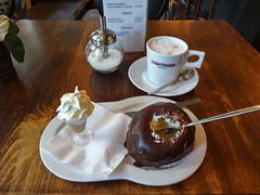 Bossche Bol and Coffee (MarkAClem) Tags: netherlands geotagged europe thenetherlands nl denbosch shertogenbosch noordbrabant northbrabant nld geo:lat=51 geo:lon=5 provincienoordbrabant depettelaar 30773910 68831022