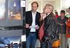 Pieter en ik | Overschie | Expositie (zzapback) Tags: overschie 2012 expositie zzapback