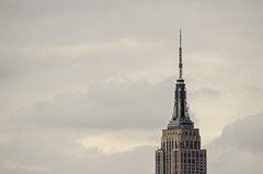Empire Top#2 (chrisbastian44) Tags: city nyc newyorkcity sky ny newyork skyscraper subway downtown cityscape manhattan financialdistrict midtown explore pollution mta empirestate tall gotham bigapple pennstation portauthority bastian nycmta chrisbastian chrisbastian44