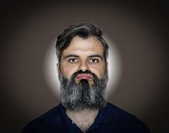 Ufffff....[Project #3] Me and my Face (auredeso) Tags: palle face faccia portrait ritratto project progetto noia
