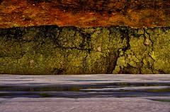 Landschaft (efgepe) Tags: 2016 skandinavien norge noreg norway norwegen farbe color colour viveza nik lightroom landschaft landscape vidda hardangervidda eis fels ice rock