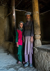 Father and her daughter in their traditional house, Badakhshan province, Zebak, Afghanistan (Eric Lafforgue) Tags: 5055years 89years afghan422 afghanistan architecture badakhshanprovince centralasia child colourimage community dari daughter earthquakeproof father fullframe girls indoors islam ismaili lifestyles lookingatcamera pamir photography pillar twopeople vertical wakhan wooden zebak afeganistão अफ़गानिस्तान افغانستان афганистан афганістан אפגניסטןอัฟกานิสถาน アフガニスタン 阿富汗 아프가니스탄 أفغانستان