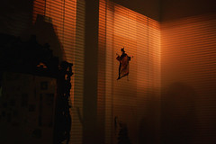 untitled (_kk___) Tags: night room shades shadow midnight ghost art collage girl dream nightmare mirror old vintage self portrait selfportrait exposure canon 40mm light lights