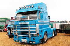 Scania 112M C534 LBE Great Dorset Steam Fair 2016 (davidseall) Tags: scania 112m c534 lbe c534lbe great dorset steam fair 2016 truck lorry lgv hgv showman showmans engine large heavy goods vehicle haulage tractor unit f flinstone