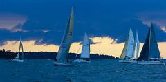 Helsinki-Tallinna Race (Antti Tassberg) Tags: 2016 cloud helsinki htr pilvi purjehdus purjevene race rain regatta sade sailing sailingboat tallinna yacht