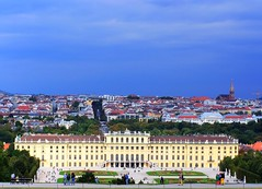 Schnbrunn Palace and beautiful Vienna in background (mmalinov116) Tags: austria vienna palace beautiful schnbrunn city view history