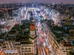 Another view (karinavera) Tags: travel nikond5300 buenosaires night congreso argentina aerial barolo cityscape longexposure view city congress