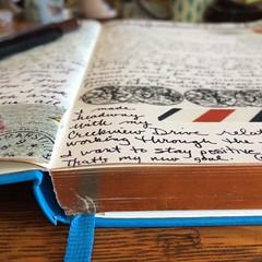 My Leuchtturm journal (Kathryn Zbrzezny) Tags: leuchtturm1917 write visualjournal visualdiary journal journalwriting journaling handwriting handwritten