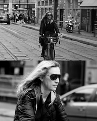 [La Mia Citt][Pedala] con il bikeMi (Urca) Tags: 8913 milano italia 2016 bicicletta pedalare ciclicsta ritrattostradale portrait bike bicyclenikondigitale mir biancoenero bn bw blackandwhite bikemi bikesharing