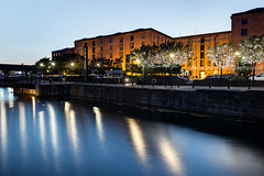 Albert Dock (Brian Sayle) Tags: albertdock canningdock canon1635mm canon1635mm28 1635mm 1635mm28 6d canon6d canoneos6d eos6d lowlight darkness dark night nightphotography nighttime nightshot longexposure architecture liverpoolcitycentre citycentre liverpool mannisland pierhead gradeii listed gradeiilisted dockland docks water reflection