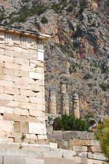 Delphi - Treasury and Oracle (gilmorem76) Tags: greece travel tourism ancient delphi delfi treasury oracle architecture parnassus