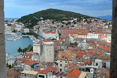 Split - Spalato, veduta dal campanile della Cattedrale (Valerio_D) Tags: split spalato hrvatska croazia croatia 2016estate dalmacija dalmazia 1001nights 1001nightsmagiccity