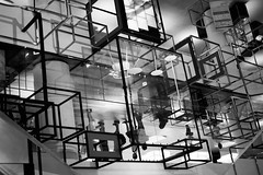Reflections of INCEPTION ② (Rob₊Lee) Tags: reflections mirror bw inception complex