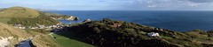 Lulworth Cove Panorama (mme1998) Tags: lulworth cove coast sea ocean jurassiccoast lulworthcove dorset south england southcoast nikon d3300 dslr shore shoreline landscape seascape rockys beach uk aonb panormama