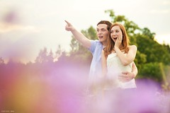Summer wonders (Ireine Photography) Tags: pair date photoraphy couple czech happy observing fields purple girl portrait exterier