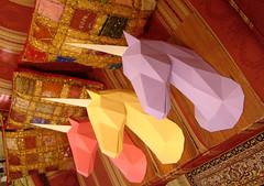 MONOCERI 3 (SERRESUNDIAL) Tags: unicorn monoceros brenikou hellas macedoniaeasthellas papercraft
