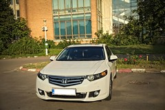 IMG_5595_7 (Killer_533) Tags: honda accord executive 20 petrol white 2010 euro dual chromed exhaust led lights car leather