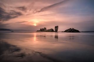 Sunset in Bayas II - Atardecer en Bayas II