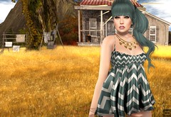 Fields Of Gold (Cryssie Carver) Tags: secondlife second life sl kustom9 thefantasycollective the fantasy collective lucid ikon insol catwa maitreya kirin luas slackgirl slack girl doe itallstartswithasmile it all starts with a smile cubiccherry cubiccherrykreations cubic cherry kreations