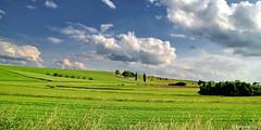 Hessen / Landschaft bei Hnfelden-Nauheim (berndwhv) Tags: wolken landscape landschap deutschland hessen hnfeldennauheim