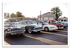 Good Company (bogray) Tags: car classic vintage historic restored preserved cruisenight parkettedrivein lexington ky circle4 thecruisenightcom