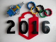 2016 MOC Olympics Logo (TechnicNick) Tags: mocpages olympics 2016 lego