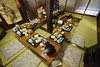 Dinner around hearth (aldian.silalahi) Tags: gassho house sleeping overnight zukuri stay ogimachi traditional dinner hearth breakfast japanese old heritage vacation