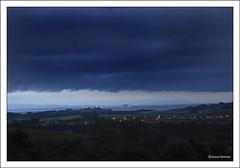Looks Like Rain again (Duncan Darbishire) Tags: summer cloud rain weather landscape bay cumbria morecambe nook furness morecambebay rosside duncandarbishire