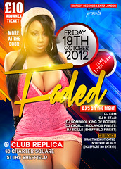 faded 2nd version (Ayo. sadesignstudios) Tags: party flyer event leaflet designmagazine partflyer