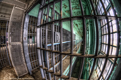 Time...  ~Explore~ (Tom Lussier Photography) Tags: usa building abandoned virginia nikon hyperfocal interior fisheye prison lorton tomlussier