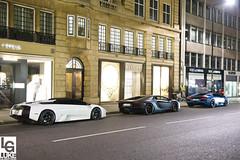 Lambo London (Luke Alexander Gilbertson) Tags: blue white nikon lamborghini supercar combo murcielago d4 mattblack sloanestreet lp640 lukegilbertson lp7004 wwwlukegilbertsoncom