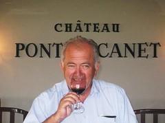 Alfred Tesseron tasting 2009 Pontet Canet