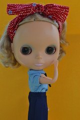 Blythe a day ~ Labor Day