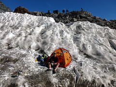 P1010380_PS (brendan87na) Tags: volcano glacier climbing mountrainier rainier cascades glaciers mountaineering mtrainier crevasse alpinism