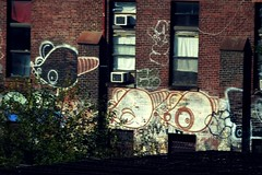 Rate the Rats x Kez5 (Now It's Real!) Tags: new york city nyc ny rooftop brooklyn graffiti tv 5 graf tags graff outline rates bk deth rate kez kult ykk fillin kez5 bkay 2dx
