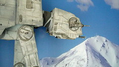 "Battle of Hoth diorama - imperial AT-AT at close range from the side • <a style=""font-size:0.8em;"" href=""http://www.flickr.com/photos/86825788@N06/7949260826/"" target=""_blank"">View on Flickr</a>"