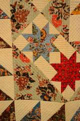 Bedcover (Star of Bethlehem Quilt) - Corner Detail