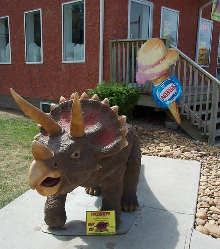 Decorative dinosaur