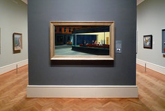 Hopper, Nighthawks in gallery