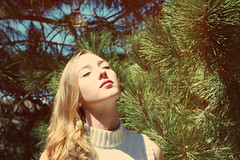 tranquility (Daisy_Queen) Tags: tree pine hair neck photography with turtle queen blonde daisy raina
