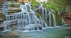 Cascada Toll Blau (Candela Candela) Tags: rio cascada bañeres fontdelacoveta