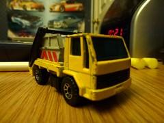 255/366: A Toy Skip (Gene Hunt) Tags: skip matchbox 2012 toytruck fordcargo project366 2012yip panasonicdmctz20