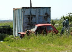 Fiat 126 (Alessio3373) Tags: abandoned rust fiat rusted scrap 126 rustycars abandonedcar scrapyards fiat126 scrappedcar