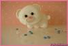 Urso Branco (Fofuchinhos) Tags: feltro urso chaveiro pingente ursinho lembrancinha