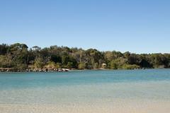 Pottsville (lizhpf) Tags: ocean trees water rocks nsw pottsville australiabeach